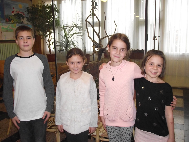 Bolyai anyanyelvi csapatverseny  6. helyezést elért csapat a 3. évfolyamon