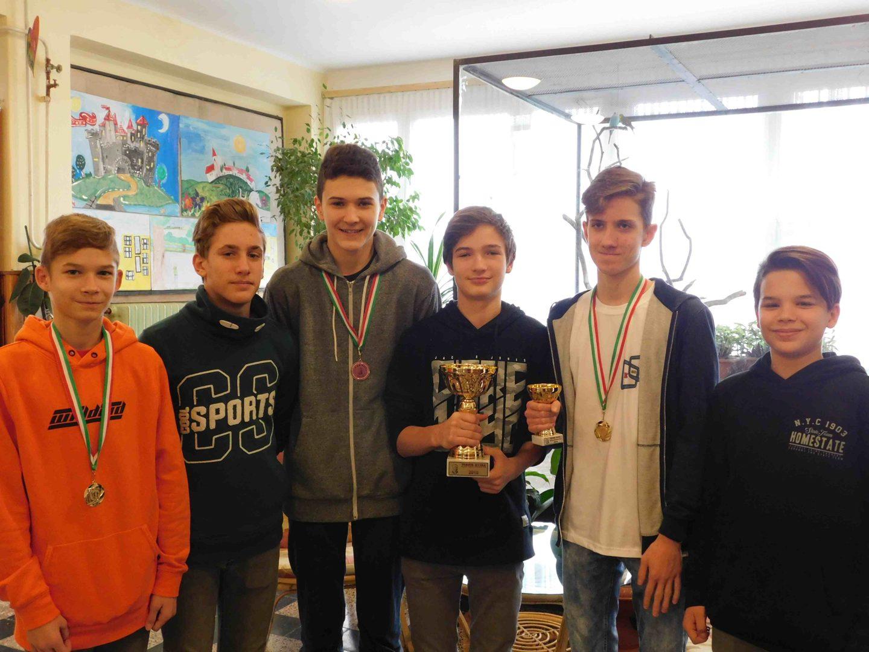 Ziper labdarúgó kupa győztes csapata