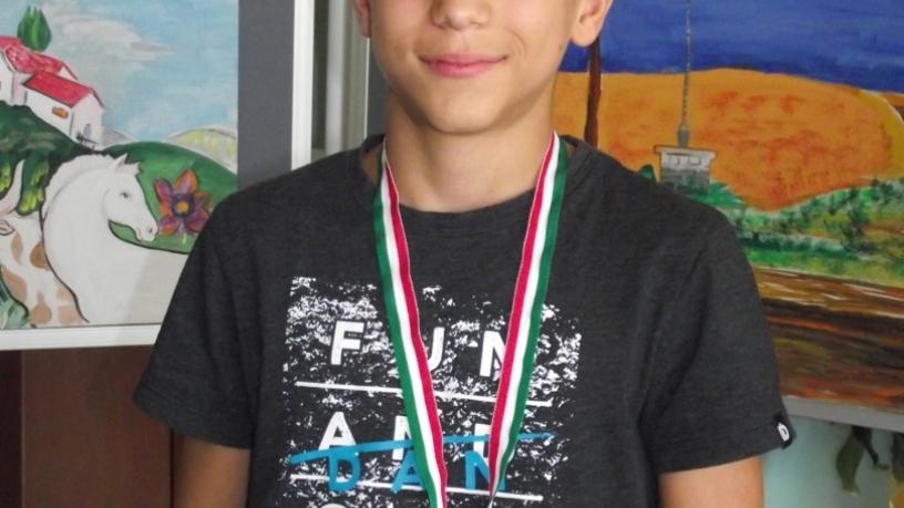 Szomorjai Gergely 6.a Diákolimpia Országos Döntő-JUDO 1. hely