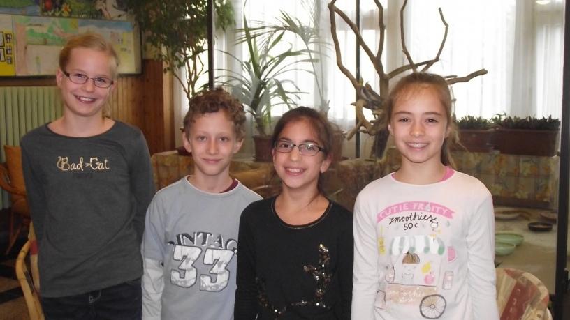 Bolyai anyanyelvi csapatverseny 5. helyezést elért csapat a 4. évfolyamon