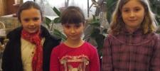 Kerületi rajzversenyen Szilágyi Csenge 2., Dali Boglárka és Tana Orsolya 5. lett