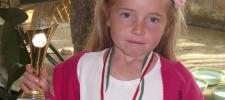 Csury Kata 2.a Decathlon Póni Klub Országos Bajnokságának győztese