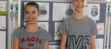 Kerületi matematika versenyen Vida Zsombor 2., Vida Virág 4. lett