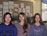 QI Yun Ting, Török Viktória, Wiand Anita a kerületi rajzverseny 8.,12. és 6. helyezettjei