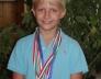 Fodor Máté 6.b a nyári Budapesti és országos kajak-kenu versenyeken és az Eszkimó játékon két 3. és három 6. helyezést nyert