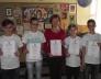 Bolyai matematika területi verseny 1. helyezett 7.a osztályos csapata
