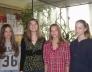 Bolyai magyar csapatverseny területi fordulójának 4. helyezést elért 8.b osztályos csapata
