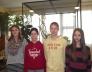 Bolyai természettudományi verseny 3. helyezést elért 7.a osztályos csapata