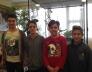Bolyai természettudományi verseny 8. helyezést elért 7.a osztályos csapata