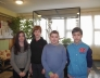 Bolyai természettudományi verseny 14. helyezést elért 7.b osztályos csapata