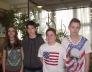 Bolyai természettudományi verseny 30. helyezést elért 7.b osztályos csapata