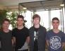 Bolyai természettudományi verseny13. helyezést elért 8.a osztályos csapata