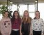 Bolyai természettudományi verseny 17. helyezést elért 8.a osztályos csapata