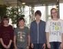 Bolyai természettudományi verseny 30. helyezést elért 8.a osztályos csapata