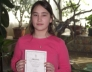Bolvári Edina a kerületi matematika versenyen 5. lett