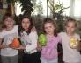 EUROCENTER húsvéti tojásfestő pályázatán az 1.c csapata 1. lett