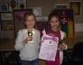 Nemzetközi ritmikus sportgimnasztika csapatverseny 1 hely, Deák Enikő,Ványolos Zoé 1.b