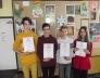 Országos Bolyai matemetika csapatverseny  31. helyezést elért 8.a osztályos csapata
