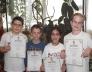 Bolyai természettudományi területi versenyen 5. helyezést elért 3.b osztályos csapat