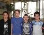 Bolyai anyanyelvi csapatverseny 5. helyezést elért csapat a 7. évfolyamon