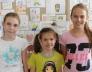 könyvtárhasználati versenyen Csuka Regina 7.,Horváth Adél  és Marek Réka 8. lett