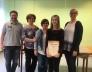 Gilicze Sára a III. kerületi tanulmányi versenyen  V. helyezést ért el